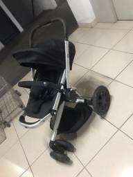 Carrinho de bebê + bebê conforto Quinny