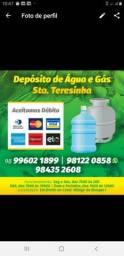 Água e gás Santa Terezinha