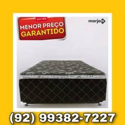 CAMA BOX ESPUMA -FRETE GRÁTIS