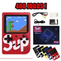 Super videogame Retrô com 400 jogos! NOVO!!