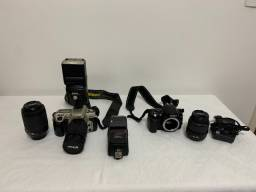 Nikon D40 - Nikon f60