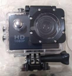 Câmera Filmadora Ação Capacete Esporte Mergulho Acessórios (NOVA)
