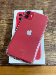 IPhone 11 vermelho 128 gigas imperdível !!!