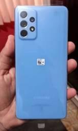 A72 Azul lançamento da samsung