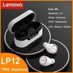 Fone de ouvido Lenovo LP12