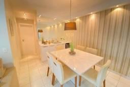 AL- Apartamento com 02 quartos, andar alto 68m² (TR73996)