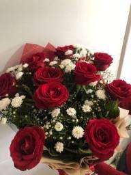 Vendo buquê de flores 10 botões de rosas
