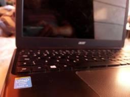 Notebook i3 6 gb ram. Aceito cartão
