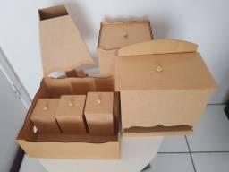 Kit higiene MDF cru 07 peças entrego no centro da cidade