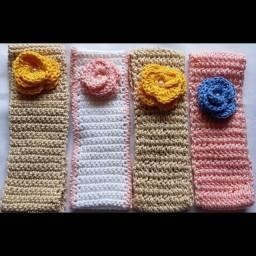 Handband infantil crochê