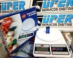 Balança digital para pesagem de alimentos,facilidade no preparo de receitas. Pesa até 10kg