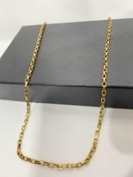 Correntes banhado a ouro 18k com garantia