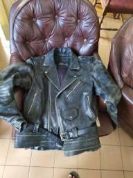 Jaqueta couro legítimo,pesada
