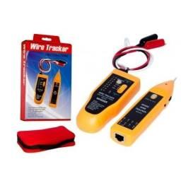 Kit Localizador Rastreador Testador De Cabos Wh806r Speedlan