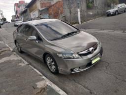 Honda Civic LXL Flex  2010/2011 Cinza Aut. 1.8
