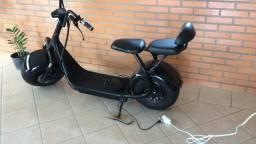 Scooter Elétrica Harley - Bateria fixa 1000W