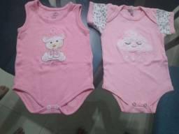 Lotinho roupa bebê menina tamanho P