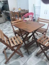 4mesas e cadeiras de abrir