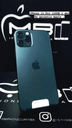 iPhone 12 Pro 128GB Azul até 18X no cartão.