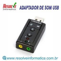 Adaptador de Som USB - Lotus