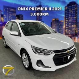 Título do anúncio: Onix Premier 2 2021 Apenas 3.800km