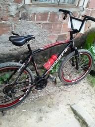 Bicicleta Mônaco cor preta