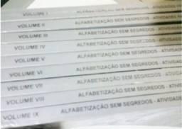 Alfabetização Sem segredos - 9 volumes - p/ Crianças de 5 a 6 anos