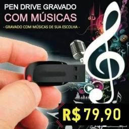 Pen-drive com músicas