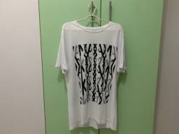 Camisa Aramis Branca Estampada M