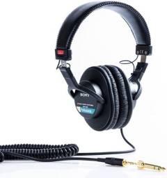 Fone Profissional Sony Mdr-7506 - Preto