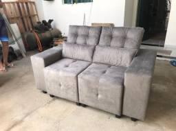 sofá de dois lugares