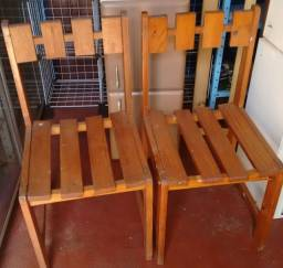 Cadeiras avulsas conservadas descrição
