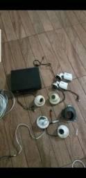 Vendo  Sistema completo  de câmera