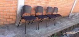 Cadeiras plásticas empilháveis direto da fábrica