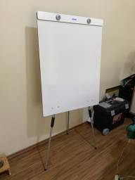 Quadro branco cavalete flip chart