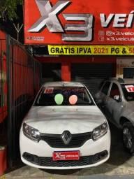 Renault Sandero 18 !!! 5 mil + 48x 728,
