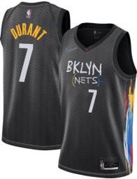 Regata Basquete Brooklyn Nets City Edition 7 Durant Swingman