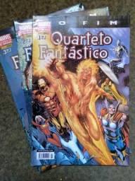 Quarteto Fantástico: O fim - mini série em 3 edições