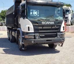 Título do anúncio: Scania P-310 ano 2014 Caçamba #Com sinal de 16.000,00 + Parcelas .