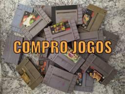 Super Nintendo jogos e vídeo gamer