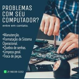 Suporte Técnico em Informática.