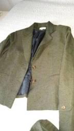 Casaco e calça de inverno