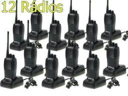 6 Pares De Radios Comunicadores Baofeng Walk Talk Baofeng 777s 16 Canais