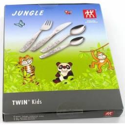 Conjunto de talheres infantis 4 peças - NOVO - da marca Zwilling Jungle