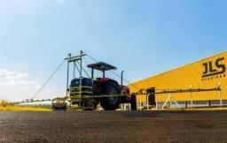 Pulverizador de barras manuais de 600 litros barras de 14 metros