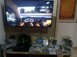 Xbox 360 destravado completaço mais de 100 jogos kinect e muito mais