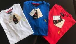 camisetas básicas  masculinas 10 pcs