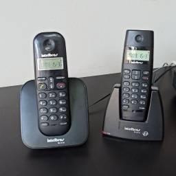 Telefone sem fio com identificador de chamada - eletrônico - casa - escritório