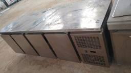 Balcao industrial de inox e balcão térmico de inox