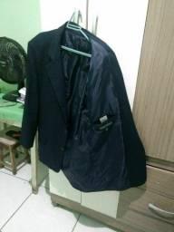 Blazer cor azul marinho de marca luxo n52